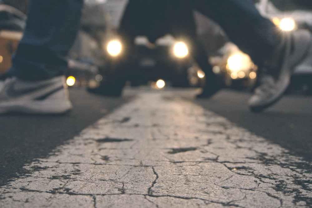 action adult asphalt blur